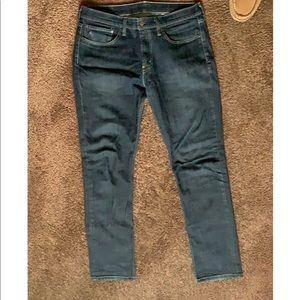 Levi's 511 dark denim Jeans slim fit. 34 x 34.